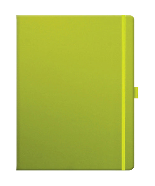 Castelli Tucson Large Ruled Notebook - Neon Green