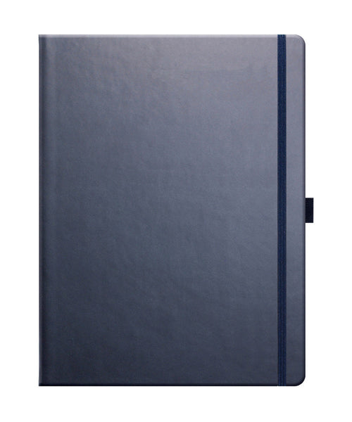 Castelli Tucson Large Ruled Notebook - Royal Blue