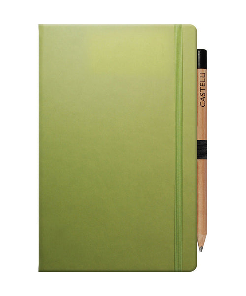 Castelli Tucson Medium Ruled Notebook - Bright Green