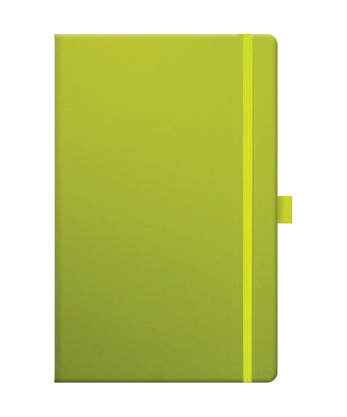 Castelli Tucson Medium Ruled Notebook - Neon Green