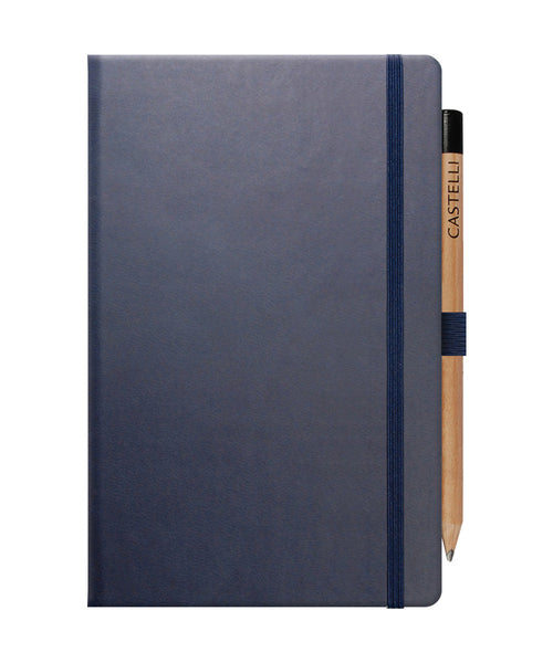 Castelli Tucson Medium Ruled Notebook - Royal Blue