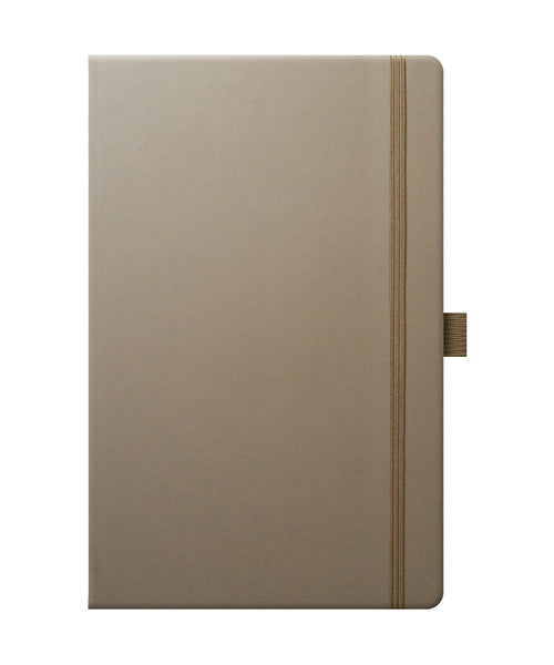 Castelli Tucson Medium Ruled Notebook - Taupe