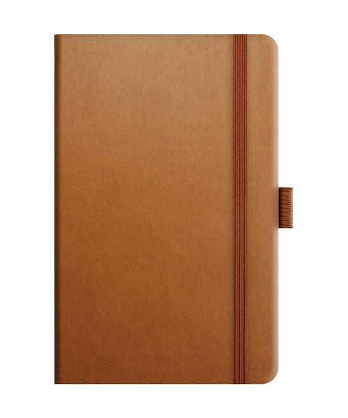 Castelli Tucson Pocket Ruled Notebook - Chestnut