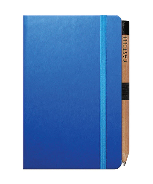 Castelli Tucson Pocket Ruled Notebook - French Blue