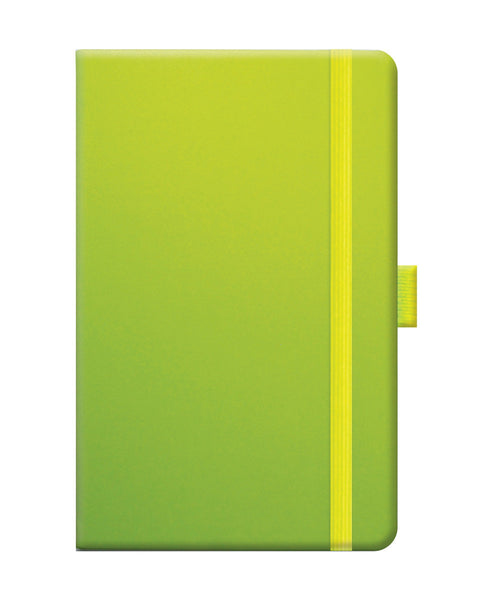 Castelli Tucson Pocket Ruled Notebook - Neon Green