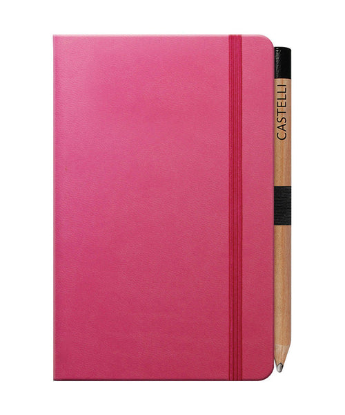 Castelli Tucson Pocket Ruled Notebook - Pink