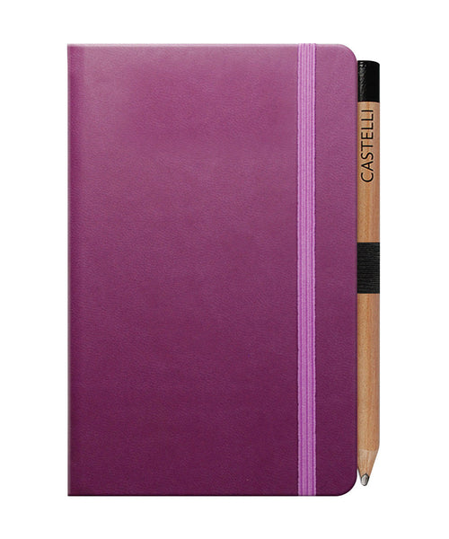 Castelli Tucson Pocket Ruled Notebook - Purple