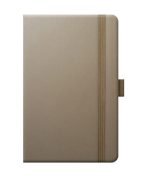 Castelli Tucson Pocket Ruled Notebook - Taupe