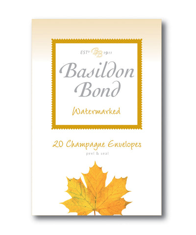 Basildon Bond Envelopes - Champagne