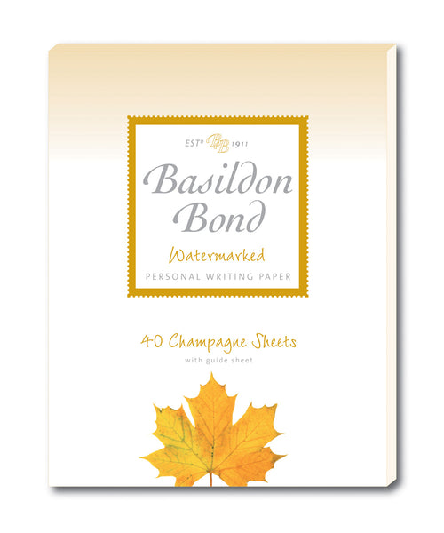 Basildon Bond Writing Paper - Champagne