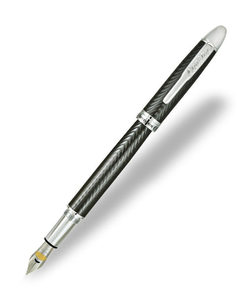 Conklin Herringbone Fountain Pen - Gun Metal