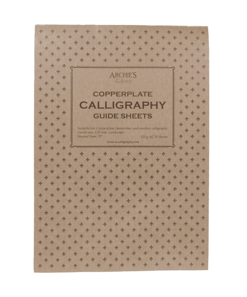 Archie's Calligraphy Paper - Copperplate 1.25mm