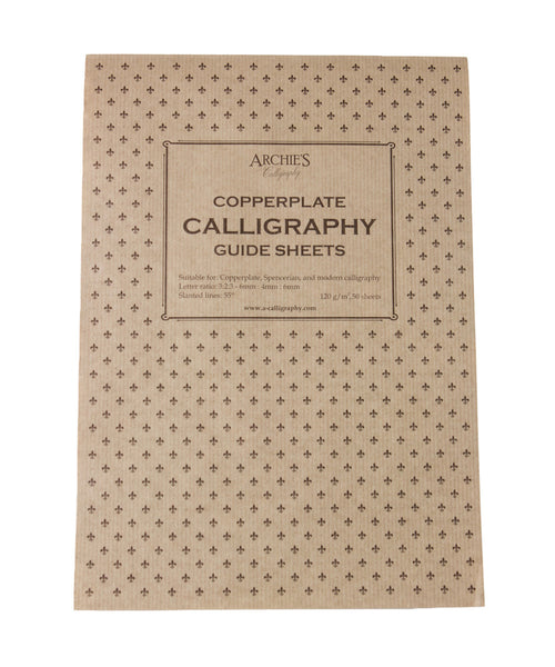 Archie's Calligraphy Paper - Copperplate 6mm:4mm:6mm