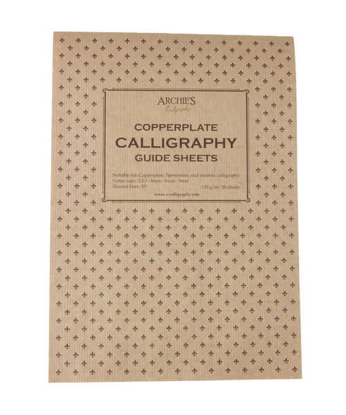 Archie's Calligraphy Paper - Copperplate 9mm:6mm:9mm