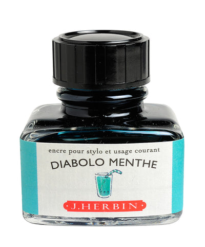 J Herbin Ink (30ml) - Diabolo Menthe (Peppermint Soda)