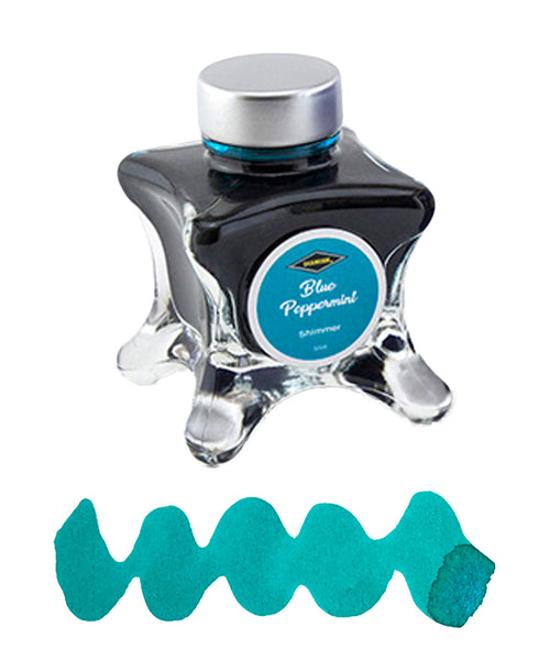 Diamine Inkvent Blue Edition Fountain Pen Ink - Blue Peppermint