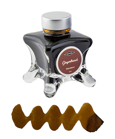 Diamine Inkvent Blue Edition Fountain Pen Ink - Gingerbread