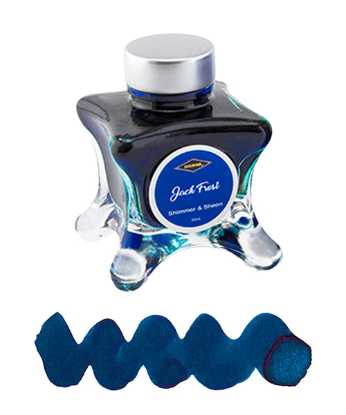 Diamine Inkvent Blue Edition Fountain Pen Ink - Jack Frost