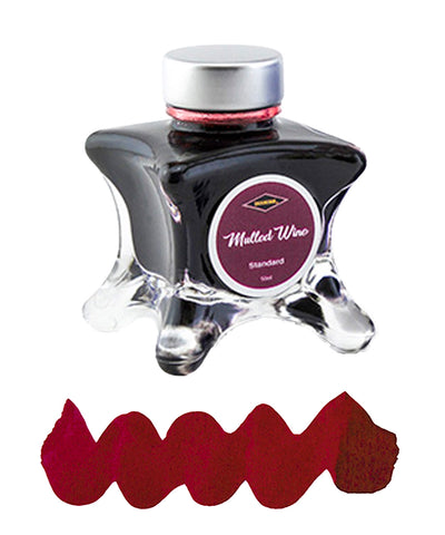 Diamine Inkvent Blue Edition Fountain Pen Ink - Mulled Wine