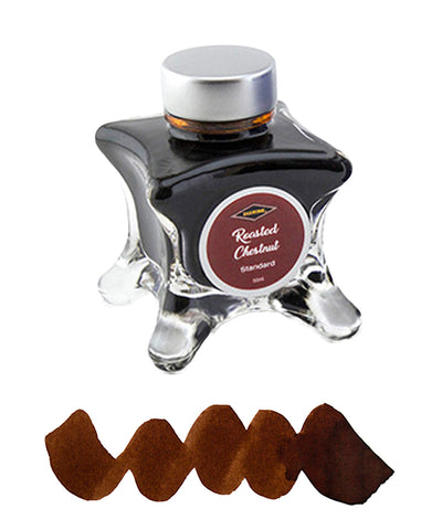 Diamine Inkvent Blue Edition Fountain Pen Ink - Roasted Chestnut