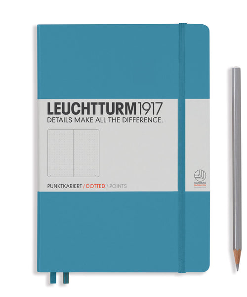 Leuchtturm1917 Medium (A5) Hardcover Notebook - Nordic Blue