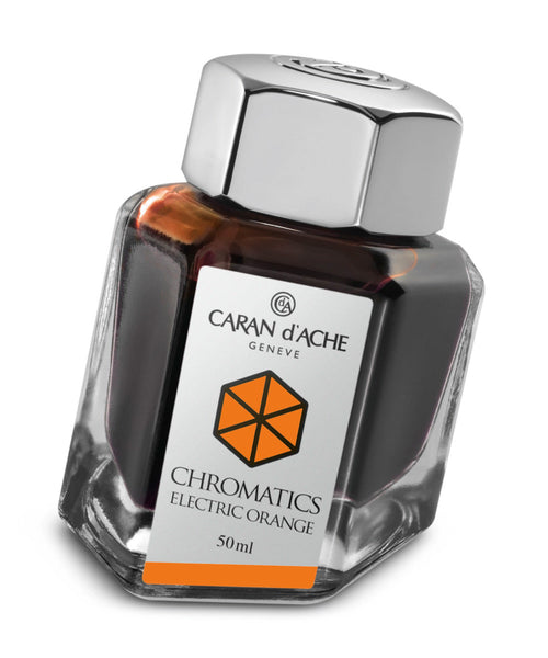 Caran d'Ache Chromatics Ink - Electric Orange