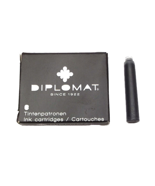Diplomat Ink Cartridges - Black