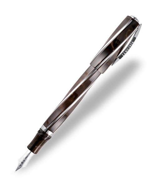 Visconti Divina Fountain Pen (Oversize) - Royal Brown
