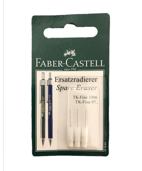 Faber-Castell Erasers for Various Mechanical Pencils