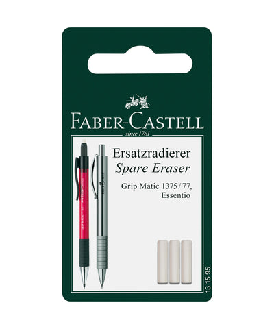Faber-Castell Erasers for Grip Matic/Essentio Mechanical Pencils