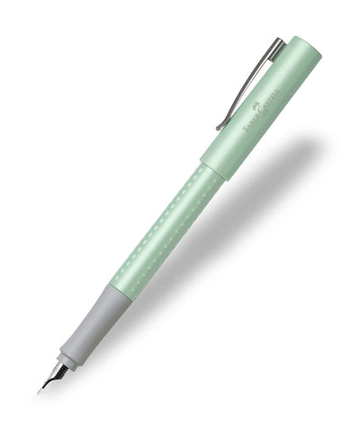 Faber-Castell Grip Fountain Pen - Pearl Edition Mint