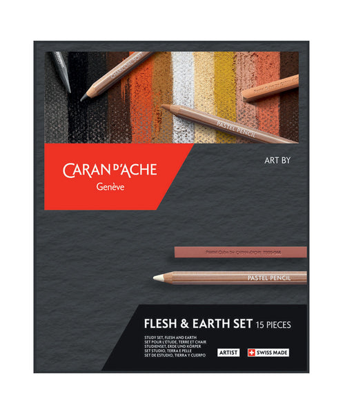 Caran d'Ache Art By Set - Flesh & Earth