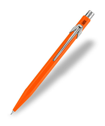 Caran d'Ache 844 Fluoline Mechanical Pencil - Orange