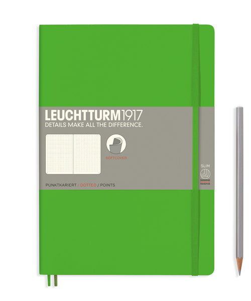 Leuchtturm1917 Composition (B5) Softcover Notebook - Fresh Green