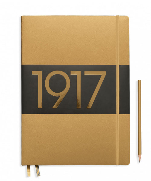 Leuchtturm1917 Master Slim (A4+) Hardcover Notebook - Gold