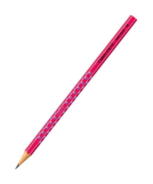 Caran d'Ache Grafik HB Pencil - Purple on Pink