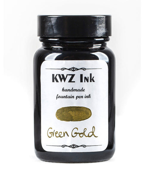 KWZ Standard Fountain Pen Ink - Green Gold