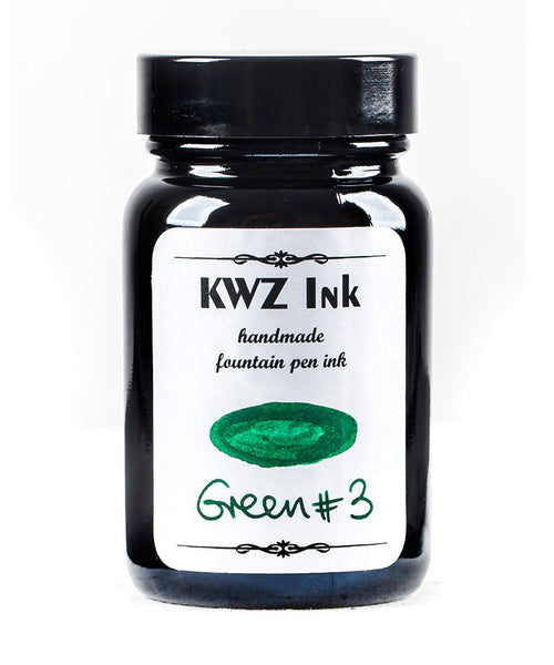 KWZ Standard Fountain Pen Ink - Green No.3
