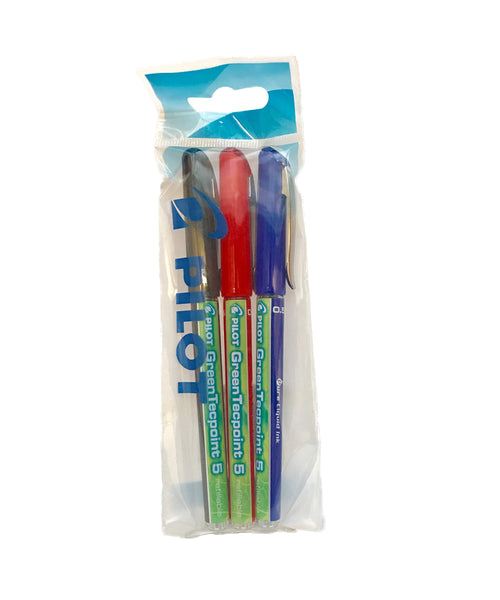 Pilot GreenTecpoint Rollerball Pens - Assorted Colours
