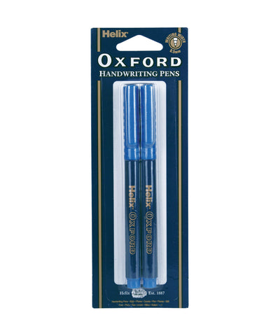 Helix Oxford Handwriting Pen - Set of 2
