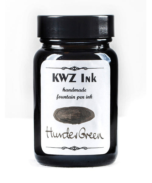 KWZ Standard Fountain Pen Ink - Hunter Green