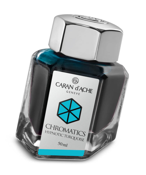 Caran d'Ache Chromatics Ink - Hypnotic Turquoise