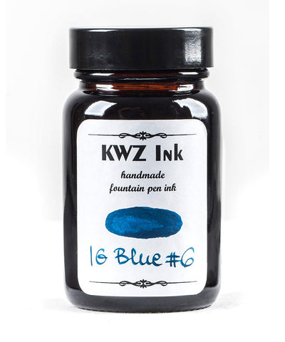 KWZ Iron Gall Fountain Pen Ink - Blue No.6