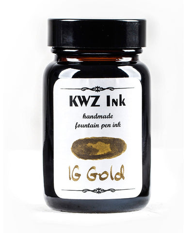 KWZ Iron Gall Fountain Pen Ink - Gold