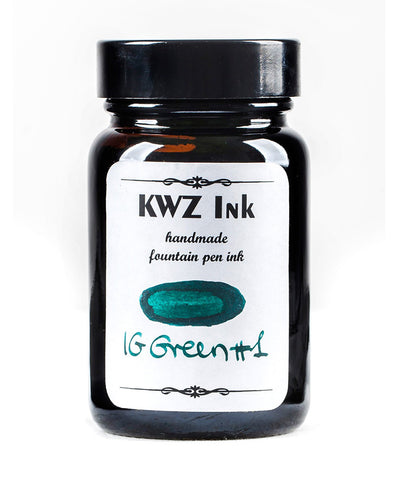 KWZ Iron Gall Fountain Pen Ink - Green No.1