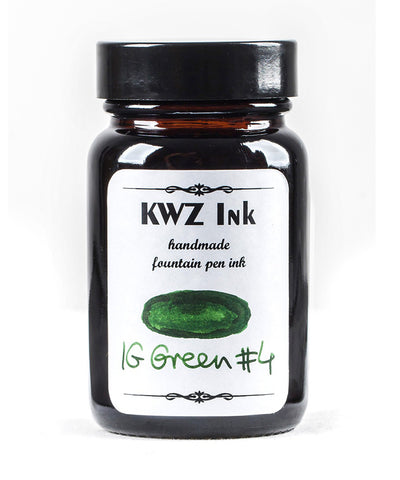 KWZ Iron Gall Fountain Pen Ink - Green No.4