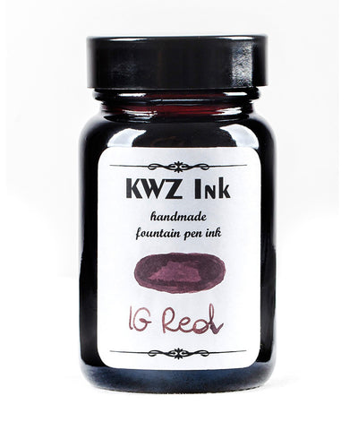 KWZ Iron Gall Fountain Pen Ink - Red
