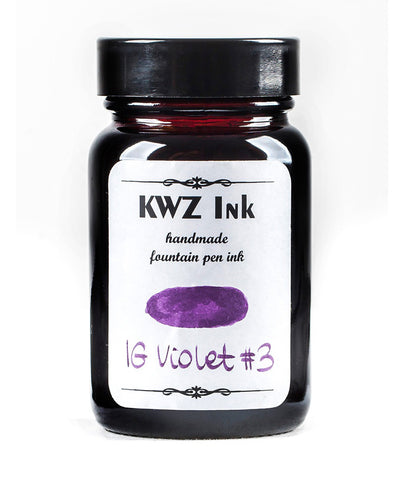 KWZ Iron Gall Fountain Pen Ink - Violet No.3