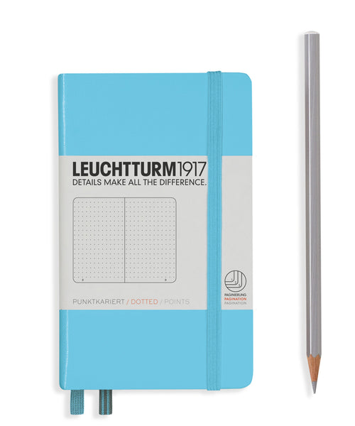 Leuchtturm1917 Pocket (A6) Hardcover Notebook - Ice Blue