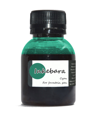 Inkebara Fountain Pen Ink - Cyan